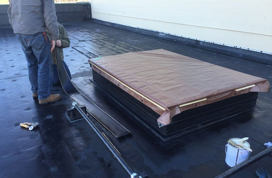 Air Conditioner Curb Installation Flat Roof Watch Video
