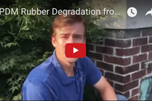 Rubber Membrane Roof Flat - video
