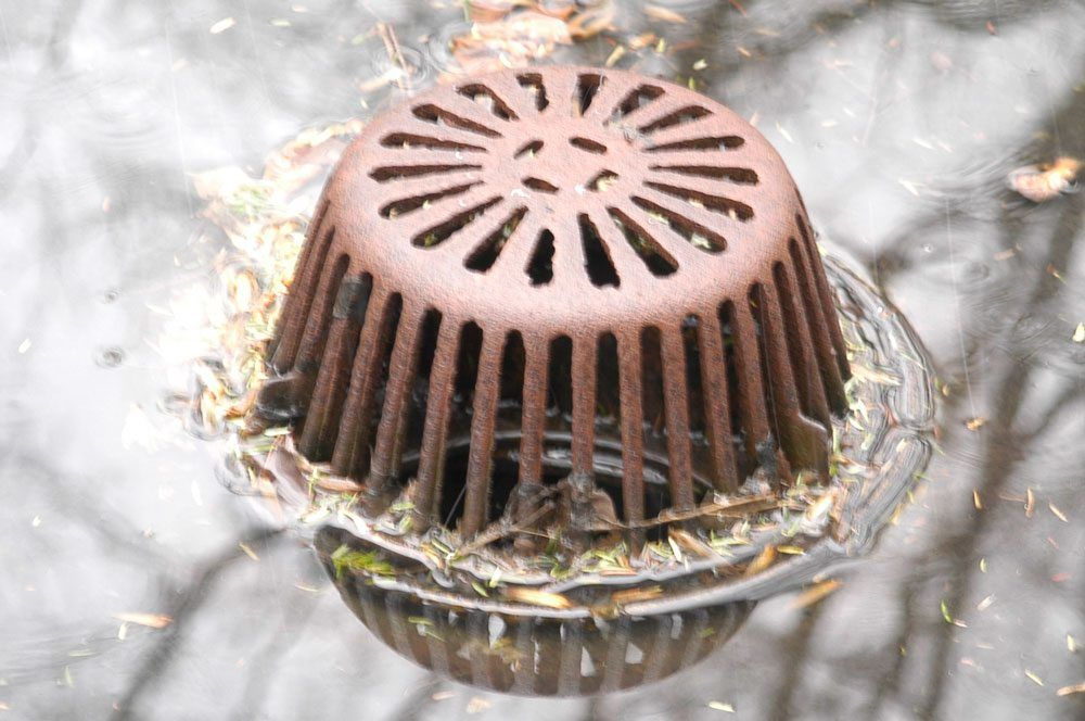 Little debris can stop a lot of water draining off a roof putting stress on the roof.