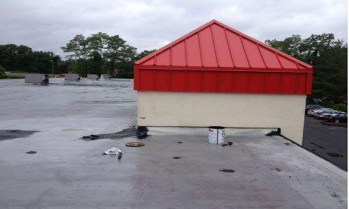 Rubber Roof Repair - Repairing Old Asphalt Roofs - Fairfield Connecticut