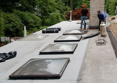 These type of skylights are less likely to leak and have less maintenance over time than other skylights.