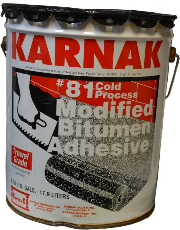 The only tar to ever use with APP Modified Bitumen membranes