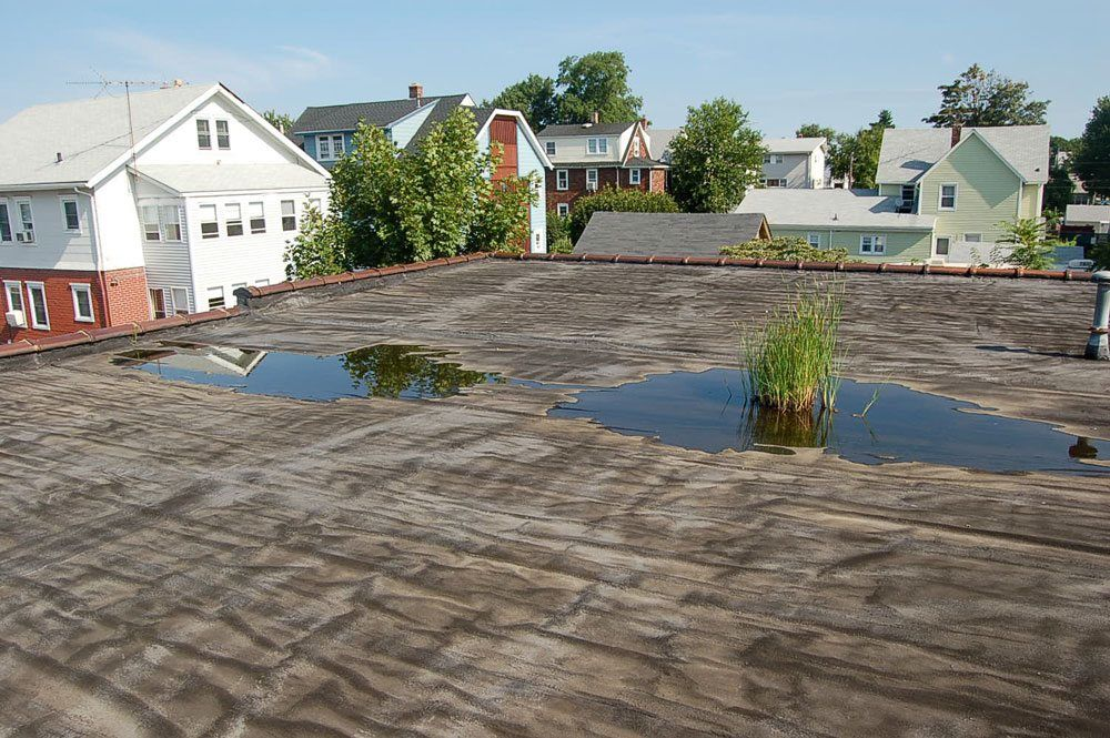 Flat Roof Pooling Video On Installing Channel To Remove