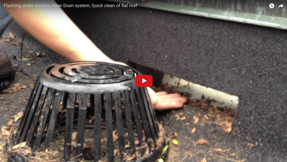 Drains On Flat Roofs