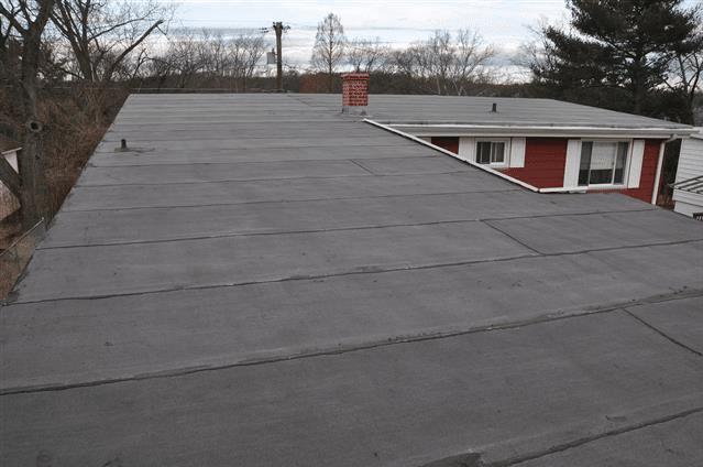 Modified Bitumen Mop Down Roof
