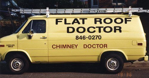 Flat Roof Fixer Van - Latrobe PA - Roofing fixer - DIY Roof Fix guide