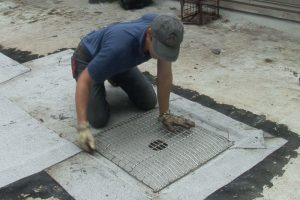 large strainer for a shallow drain