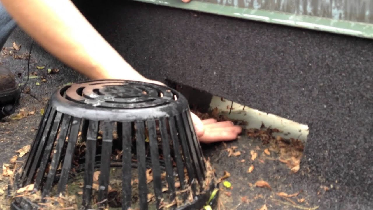 Flat Roof Drains Design Which Is The Best Drain
