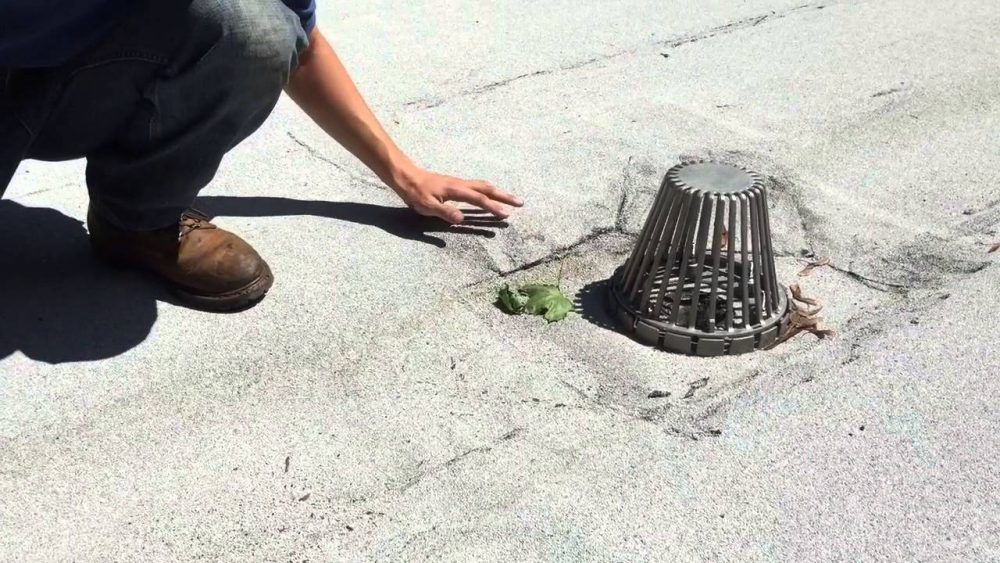 Flat Roof Drain Strainers A Most Misunderstood Part Of A