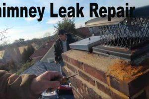 Chimney leak sealant