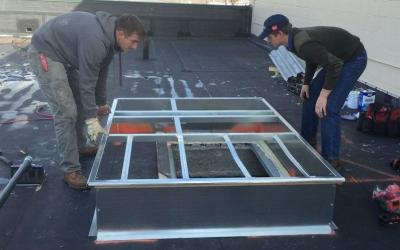 Air Conditioner Curb Installation- Flat Roof – Watch Video