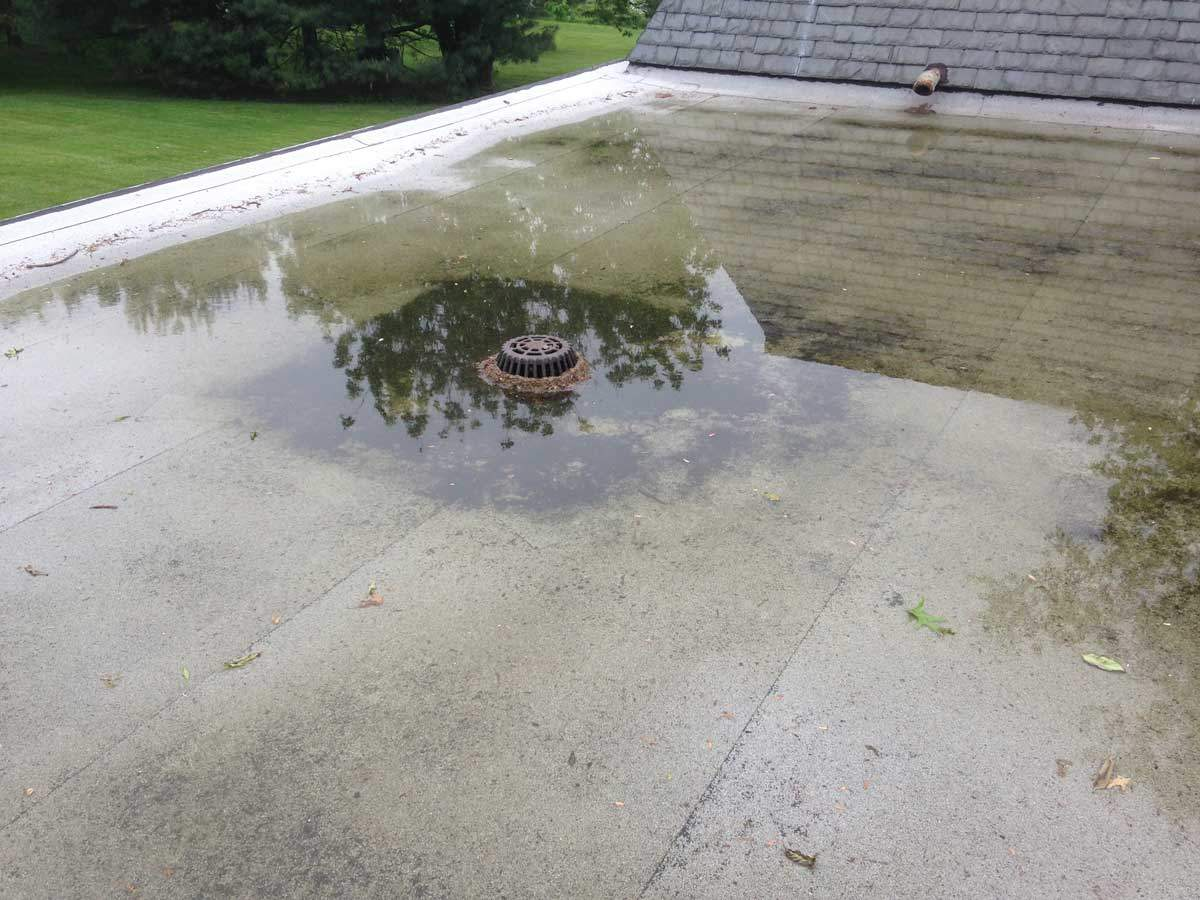 Leak Repairs On Flat Roofs