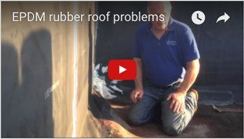 EPDM Membrane Roof – Issues to avoid – Watch Video