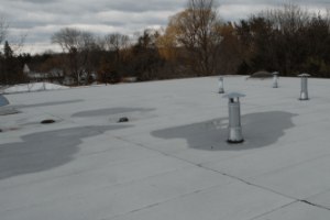 EPDM and Modified Bitumen Rubber roofs