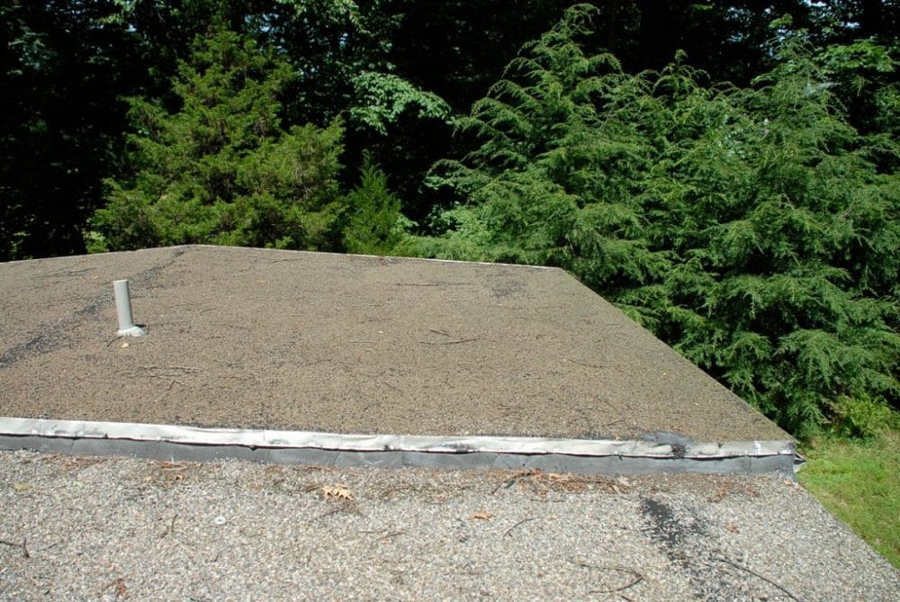 Gravel Rock roof surface - Steps taken of installing over this surface