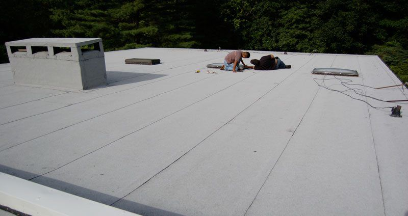 Commercial Flat Roof Systems Explained Watch Video