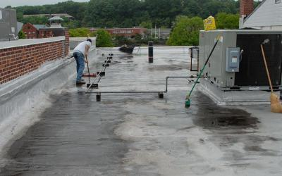 Flat Roof Repairs – Norwalk CT