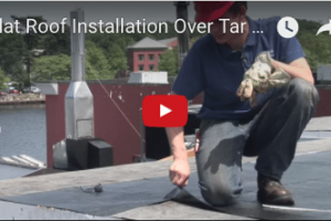 Rubber Roofing - Commercial Flat Roofs