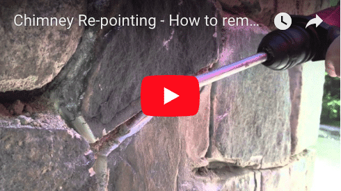 Chimney Repointing or re grouting