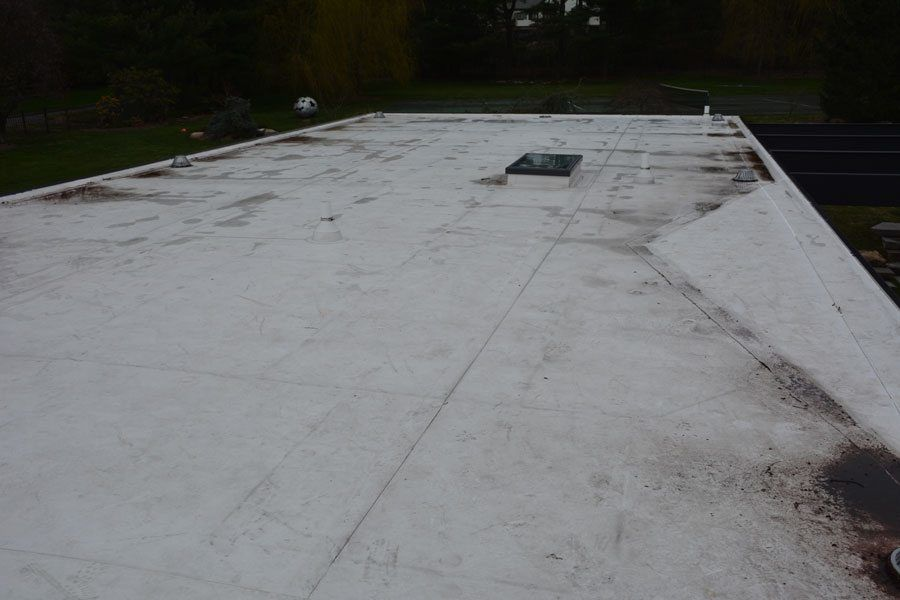 TPO roof - The seams are normally the isuues