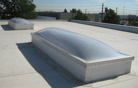 Skylight Leaks Amp Repairs On Flat Roofs Watch Video