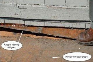 The most important part of a roof is the flashing. Care must be taken not to damage it while stripping a roof.