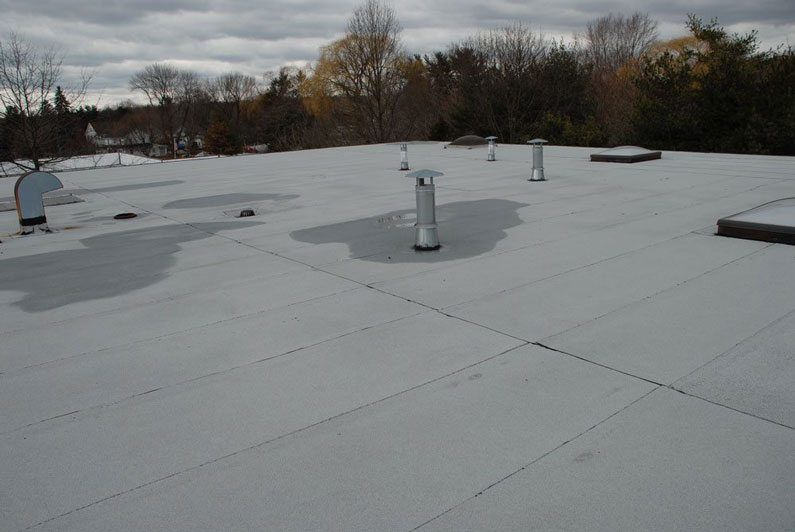 Torch Down Rubber roof Installation of over 20 years ago