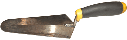 Round Nose Trowel to be used with Karnak 81 Trowel Grade Roofing cement to repair a flat roof