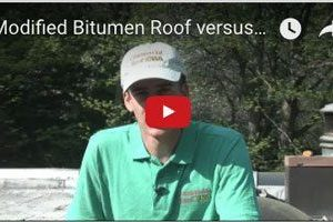 Rubber Roof Membrane System - Video - Flat Roof Repair - New Rochelle, NY