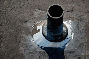 Vent Pipe Flashing - Rubber boot that is the flashing