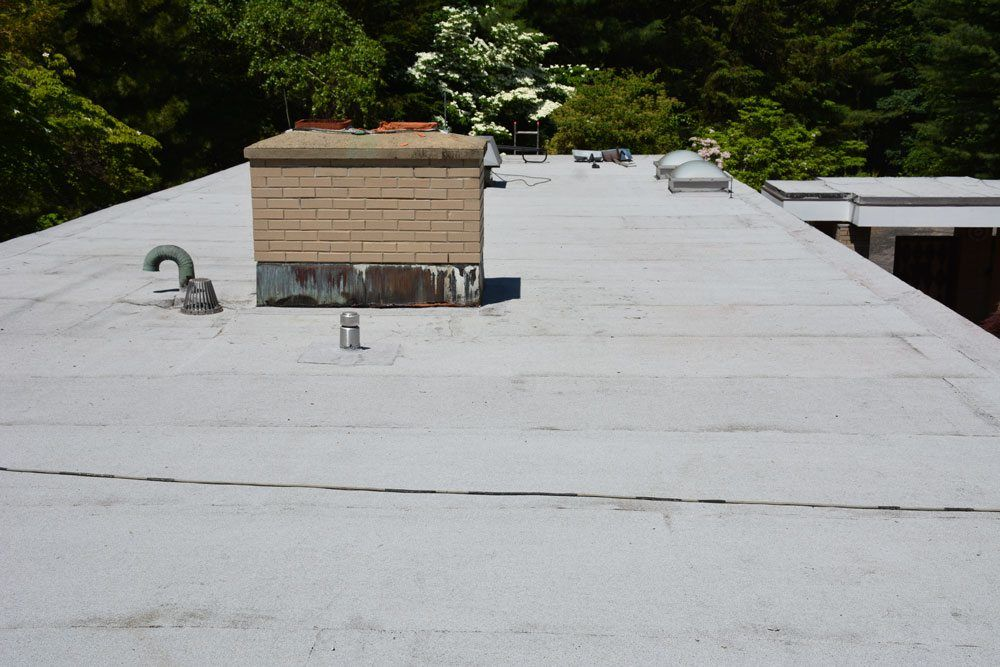 New Roof Vents And Drains Flat Roof Repairs And