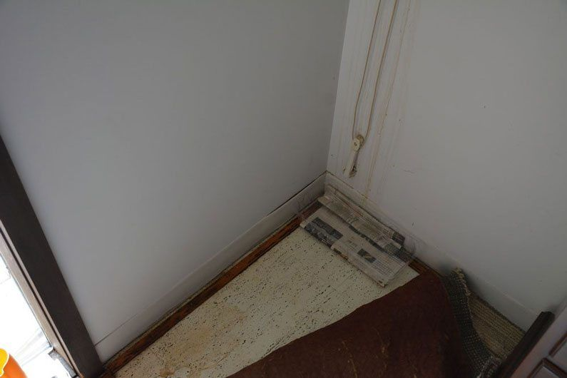 Paint and wall damage