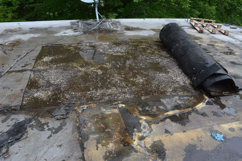 Con Artist Roofing Contractor Torch Down Rubber Roofs
