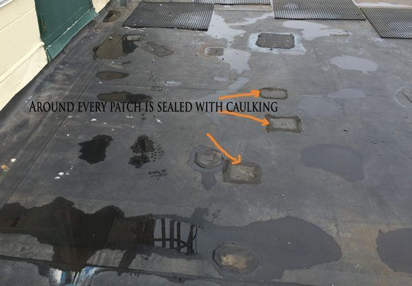 Why Not To Repair A Epdm Rubber Membrane