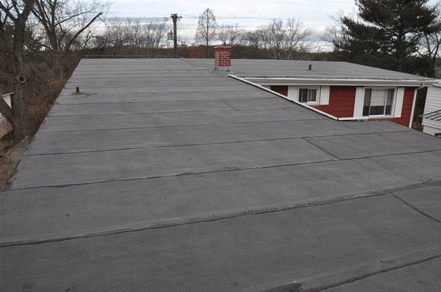 Flat Roof Rubber Membrane - Modified bitumen mop Down roof