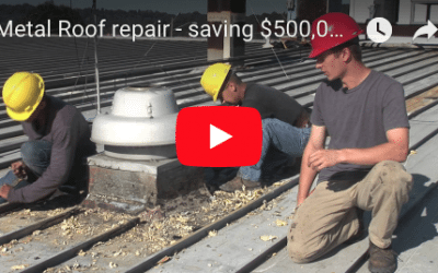 Metal Roof Recovery – the best way and less costly