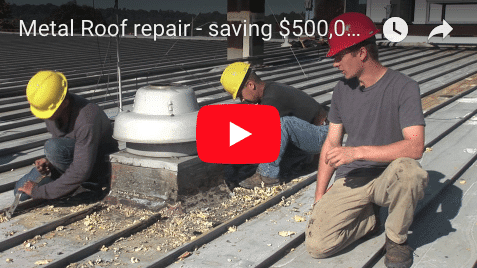 Metal Roof Repair and Recovery
