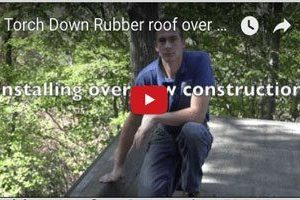 Rubber Roofs -Comparing EPDM and Torch Down Rubber Membranes Video