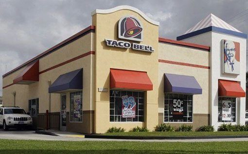 Taco Bell - Flat Roof Repair - Tyler and surrounding buildings - Clean Cut Roofing Contractor - Quality roofers