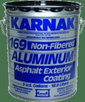 Karnak Aluminum Asphalt Roof Coating or Silver Paint