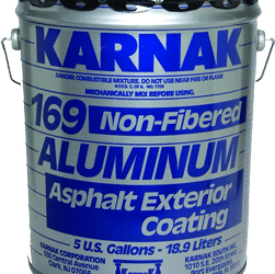 Which Silver Coating or Asphalt Aluminum Paint to use?