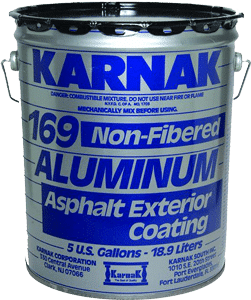 Karnak Aluminum Asphalt Roof Coating or Silver Paint