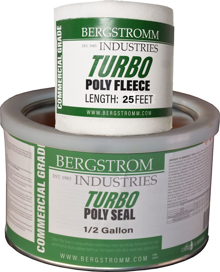This is a half gallon of Turbo Poly Seal with Polyester Fleece
