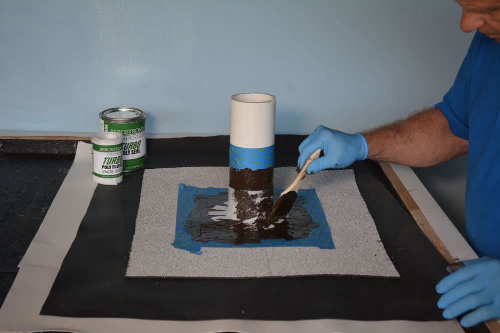 Add a second coat of Turbo Poly Seal Resin over the fleece