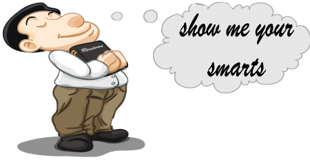 Show how smart you are by writing a review