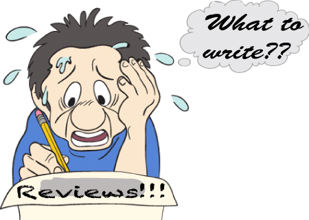 What, do I have to write a review?
