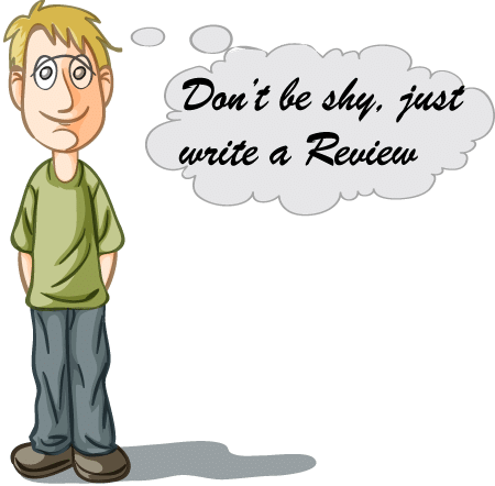 Don't be shy, just write a review