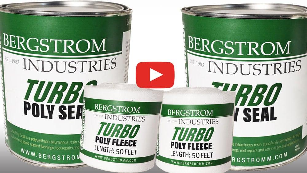 Using Turbo Poly Seal to repair metal roof seams