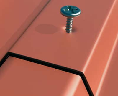 replace the hexagon fasteners with pan head screws