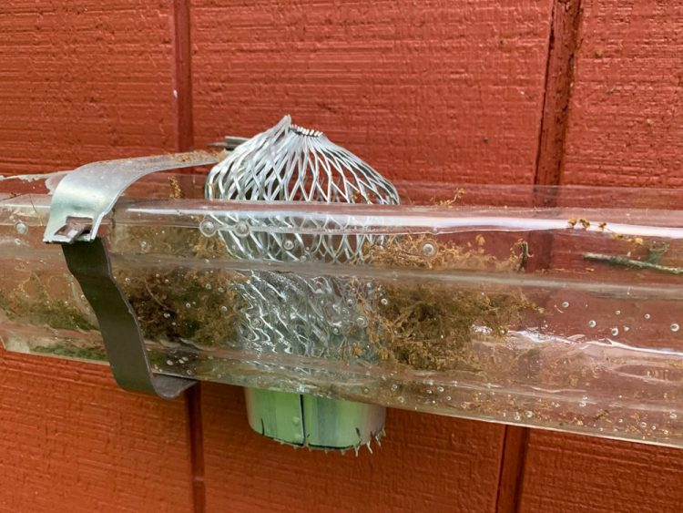 Aluminum Leaf Strainer from Home Depot